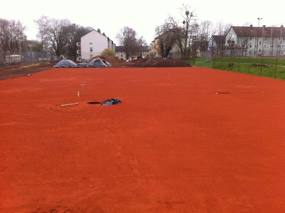 VfR Tennisplatzsanierung 23-06