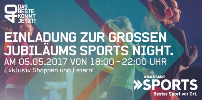 Karstadtsports-Night 2017 @ Karstadt Sports Wiesbaden | Wiesbaden | Hessen | Deutschland