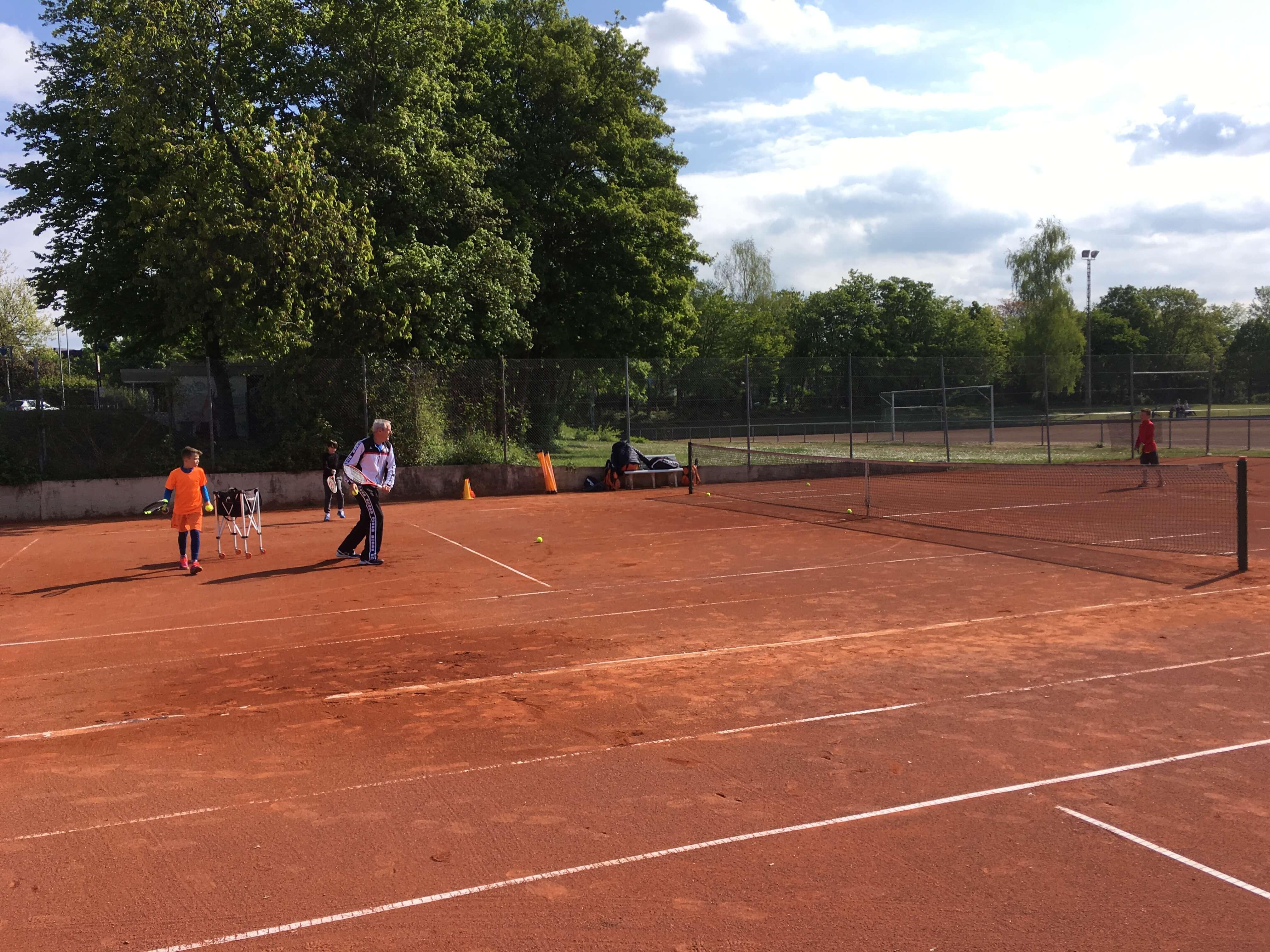 Tennisplatzeröffnung 2017