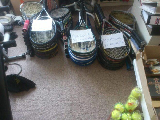Tennisschläger für Kamerun 01