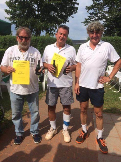 Sieger B-Runde Herren-Doppel 2017