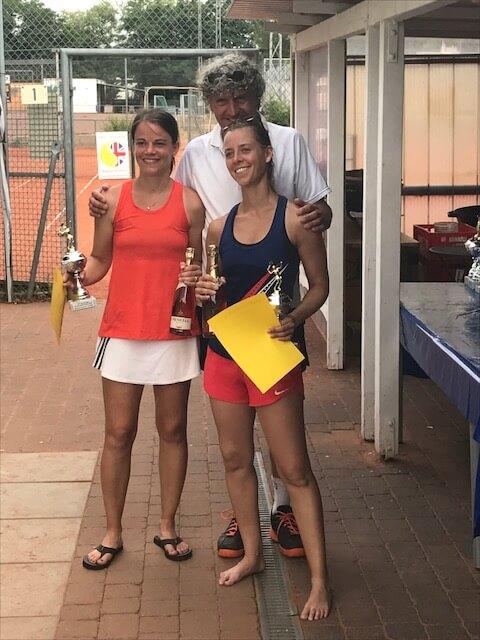2. Platz Damen-Doppel 2017