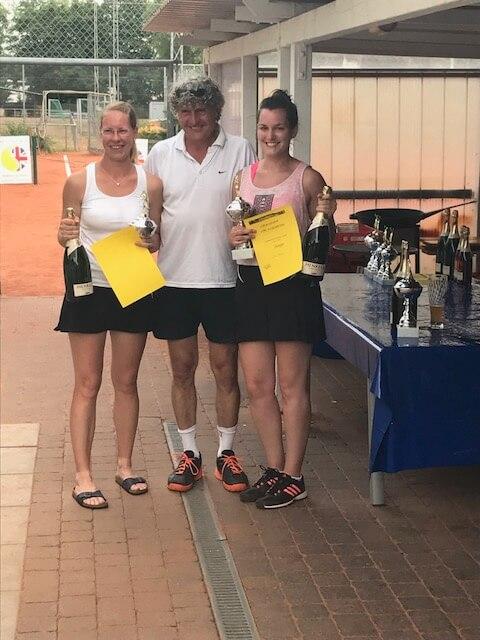 1. Platz Damen-Doppel 2017