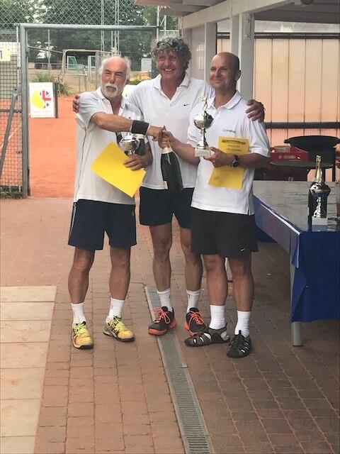 1. Platz Herren-Doppel 2017